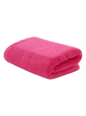 George Home 100% Cotton Towel Range - Lipgloss Pink