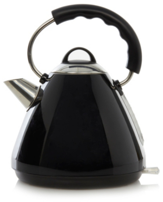 Image of 1.7L Pyramid Kettle - Black
