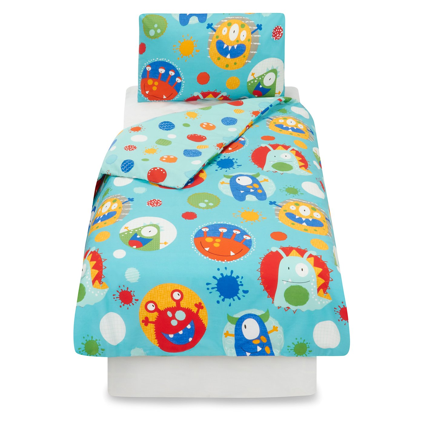 Monster Toddler Bedding Range | Bedding | George at ASDA