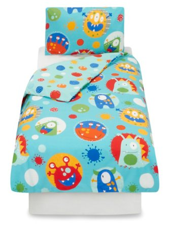 Monster Toddler Bedding Range