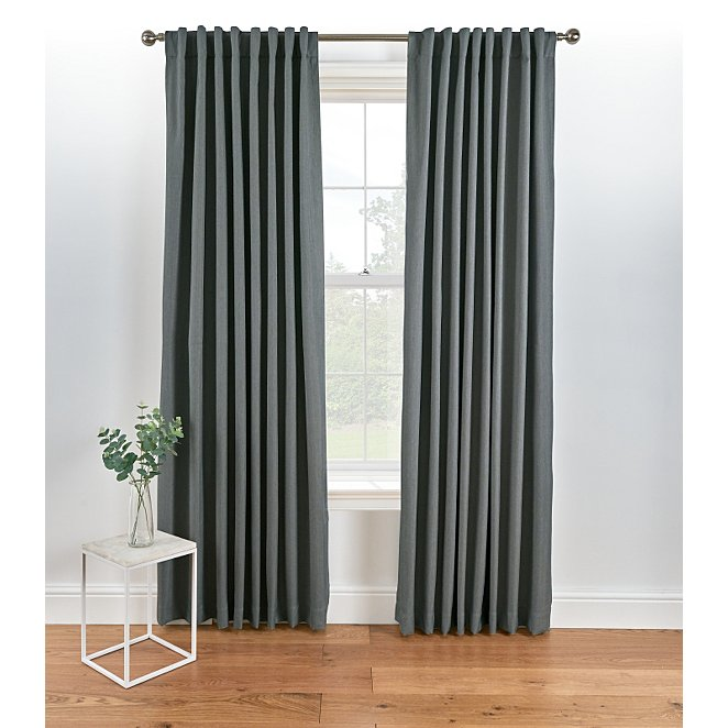 Blackout Curtains Charcoal