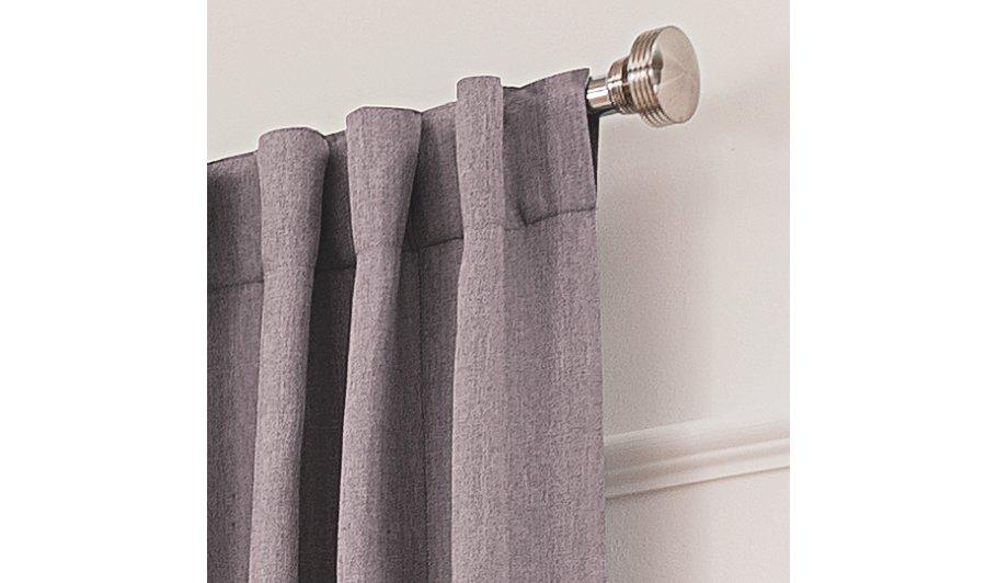Mauve Blackout Curtains