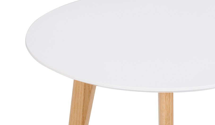 George Home Brooklyn Side Table White