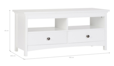 George Home Tamsin Coffee Table White Home Garden George