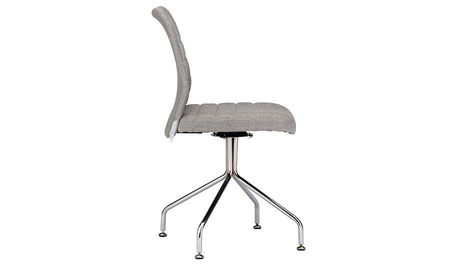 Fabric Office Chair Grey