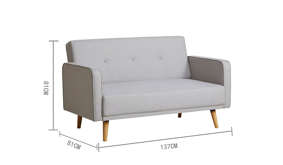 George Home Ramona Compact Sofa In Various Colours Garden
