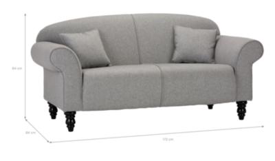 George Home Elliott Compact Sofa In Fine Velvet   Home U0026 Garden   George At  ASDA