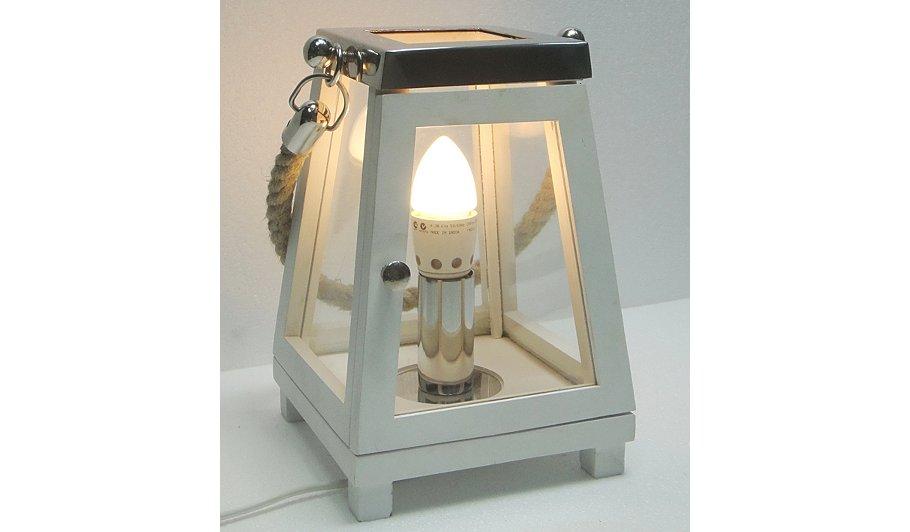 George Home Cream Lantern Lamp