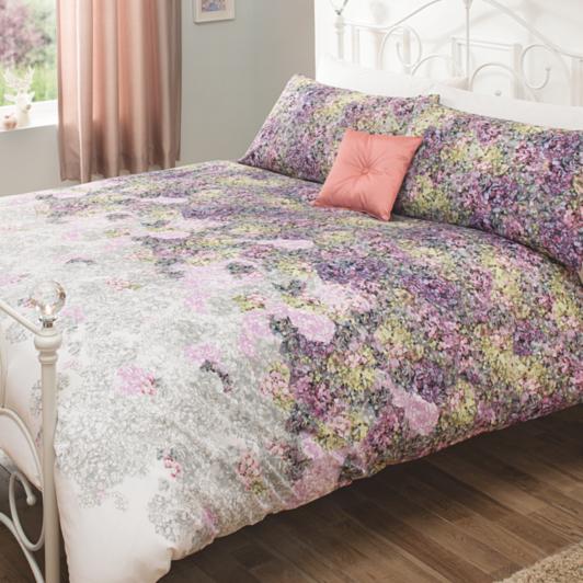 George Home Hydrangea Floral Duvet Set Duvet Covers