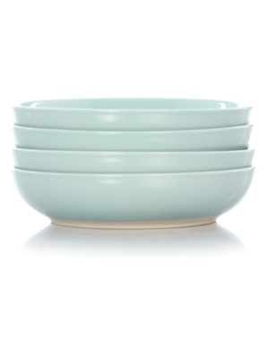 George Home Duck Egg Pasta Bowl - Set of 4  sc 1 st  George - Asda & George Home Duck Egg Pasta Bowl - Set of 4   Tableware   George at ...