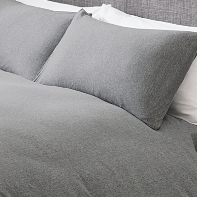 Attractive Jersey Duvet Set   Grey