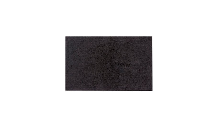 George Home 100 Egyptian Cotton Bath Mat Black Home