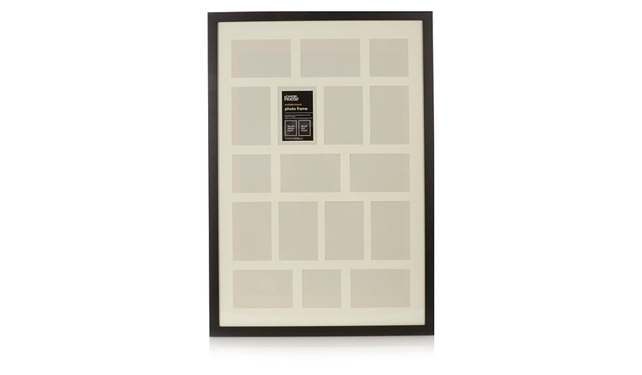 George Home Contemporary Multiple Mount Photo Frame | Home & Garden ...