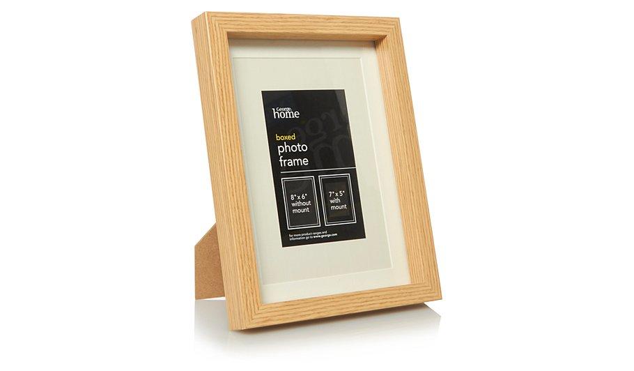 George Home Wood Boxed Photo Frame 7 x 5 inch | Photo Frames ...
