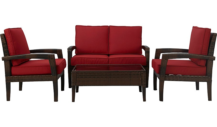 Jakarta Expressions Sofa Set Red Home Garden George