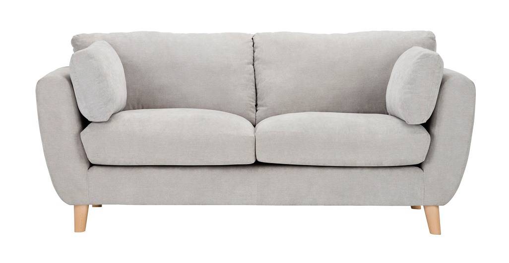 George Home Glynn Medium Sofa In Soft Linear Home