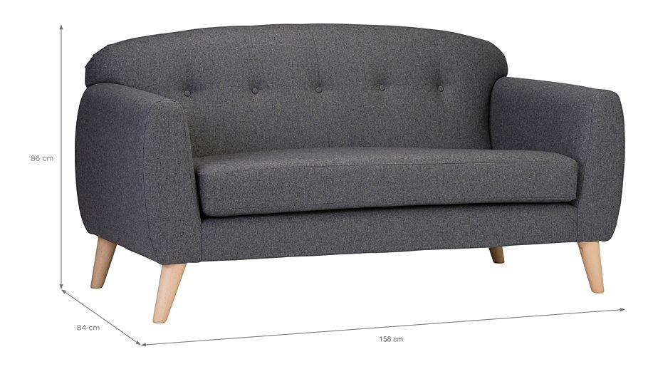 Connor 2 Seater Sofa Hide Details
