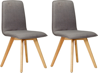 Superbe George Home Winston Upholstered Pair Of Dining Chairs   Grey | Home U0026  Garden | George At ASDA