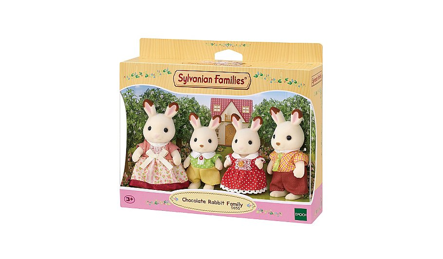 Sylvanian Families - Chocolate Rabbit Family | Kids | George at ASDA