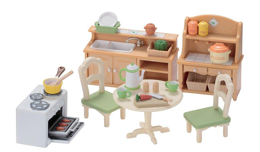 sylvanian families country kitchen set. beautiful ideas. Home Design Ideas