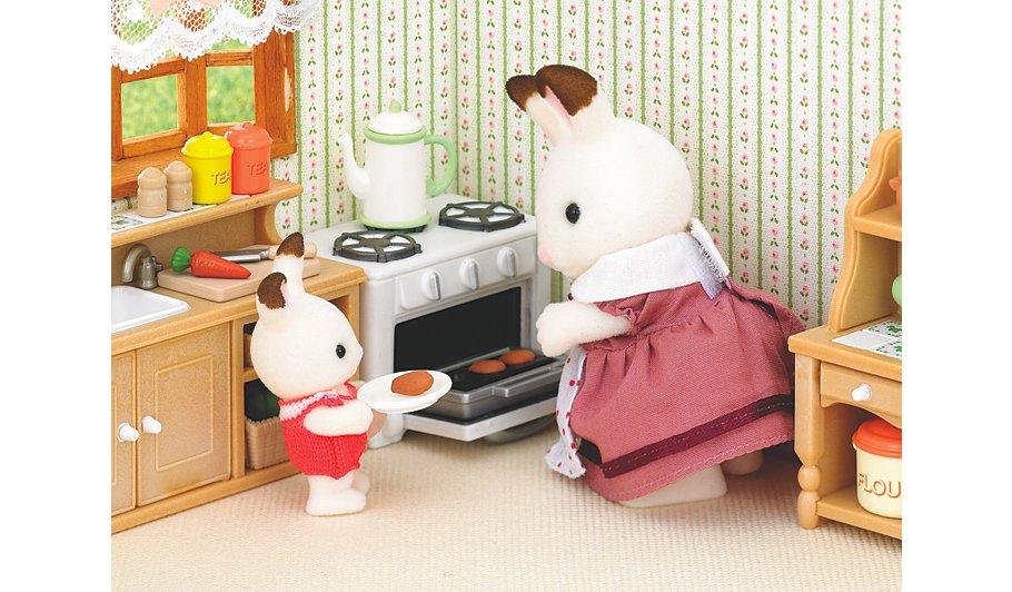 Sylvanian Families Country Kitchen Set Kids George
