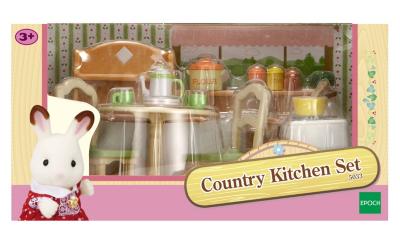 Sylvanian Families Country Kitchen Set Kids George at ASDA