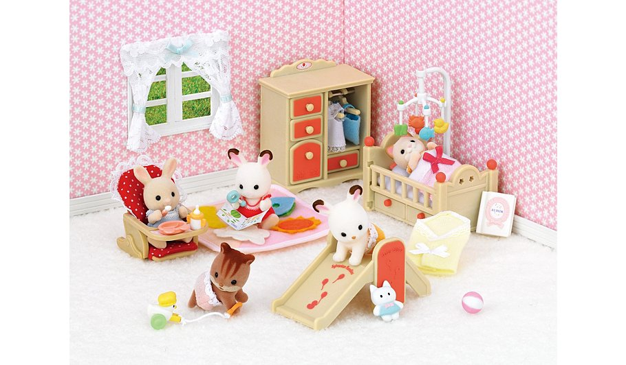 sylvanian families living room set. Sylvanian Families  Baby Room Set Toys Character George