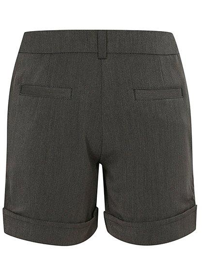 Girls School Pleat City Shorts – Grey | School | George