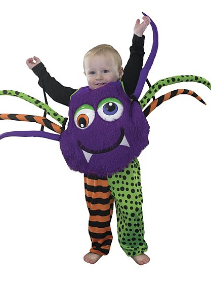 spider tabbard fancy dress costume kids george at asda - Kids Spider Halloween Costume