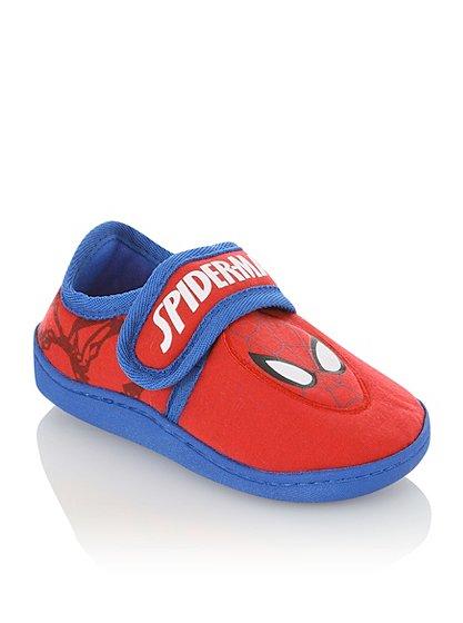 spiderman slippers kids george at asda. Black Bedroom Furniture Sets. Home Design Ideas