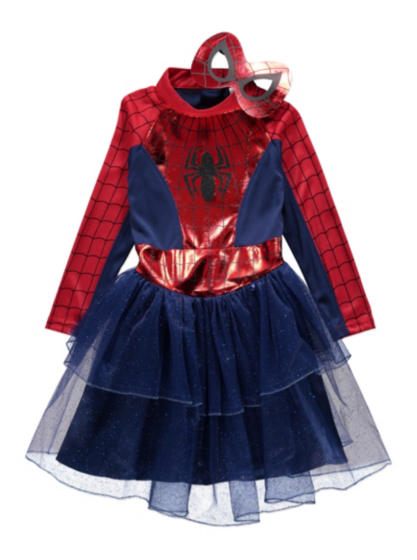 Marvel Spidergirl Fancy Dress Costume | Kids | George at ASDA