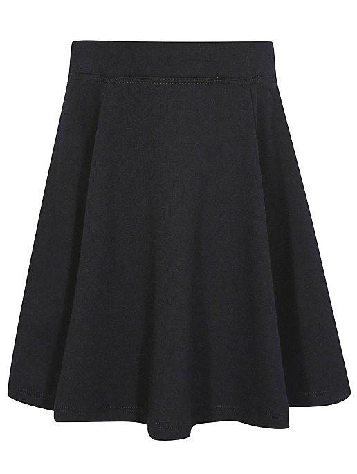 837e4aa6e7d Girls School Jersey Skater Skirt – Black