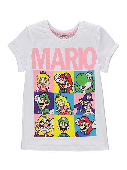 Super Mario T Shirt Kids George At Asda