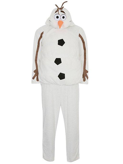 d822117165a4 Adult Disney Frozen Hooded Olaf Fancy Dress Costume. Reset