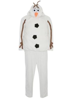 Adult Disney Frozen Hooded Olaf Fancy Dress Costume  sc 1 st  George - Asda & Disney Frozen Hooded Olaf Adult Fancy Dress Costume   Men   George ...