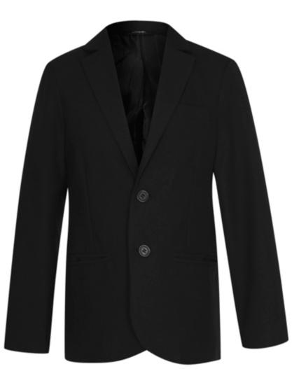 Boys School Slim Fit Blazer U2013 Black   School   George At ASDA