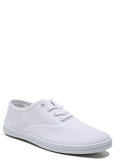 School Lace Up Plimsolls
