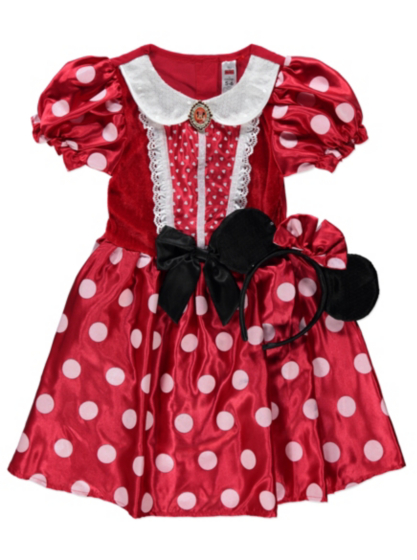 Disney Minnie Mouse Fancy Dress Outfit | Kids | George at ASDA