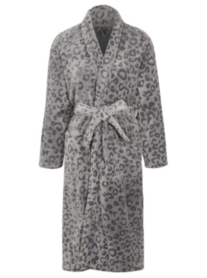 Leopard Print Dressing Gown | Women | George at ASDA