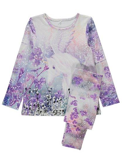 Unicorn Pajamas For Girls Breeze Clothing
