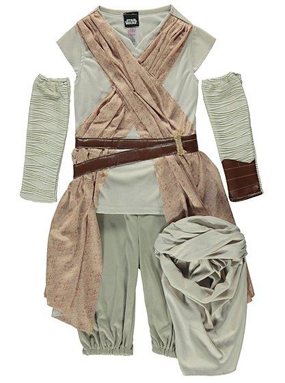 Star Wars Rey Fancy Dress Costume Kids George At Asda
