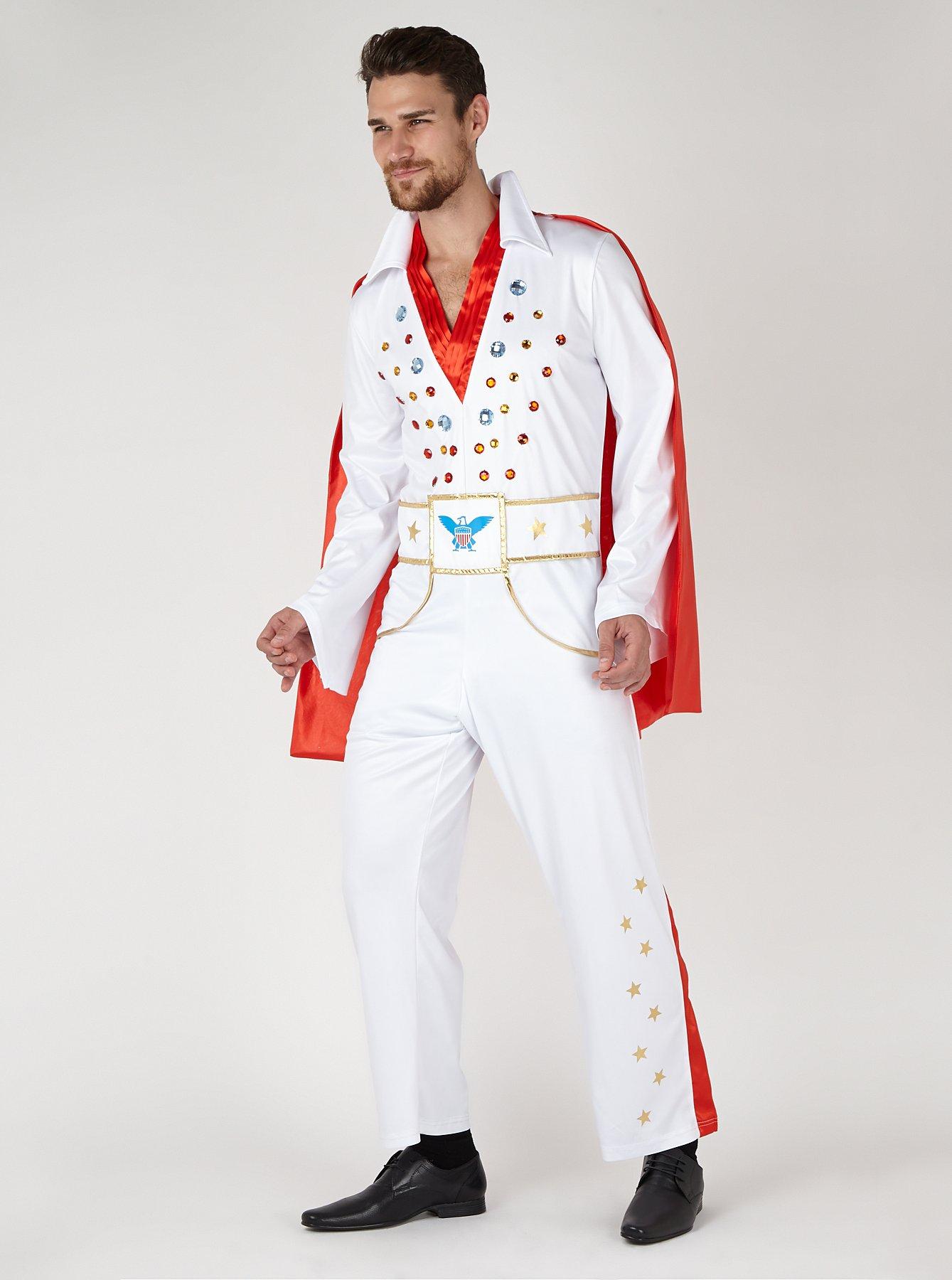 Adult Elvis Fancy Dress Costume | Men | George at ASDA