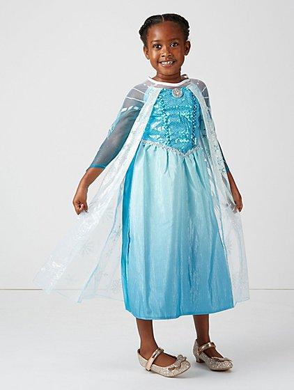 disney frozen elsa fancy dress kids george at asda