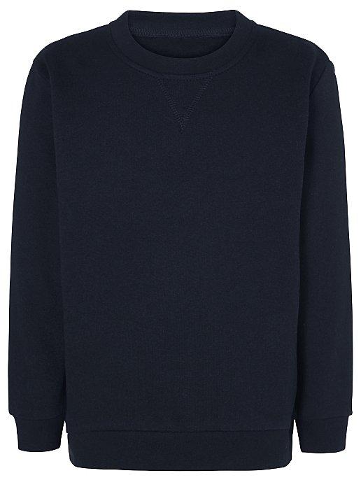 Navy School Sweatshirt