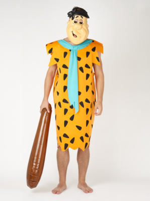 sc 1 st  George - Asda & Adult Fred Flintstone Fancy Dress Costume | Men | George at ASDA