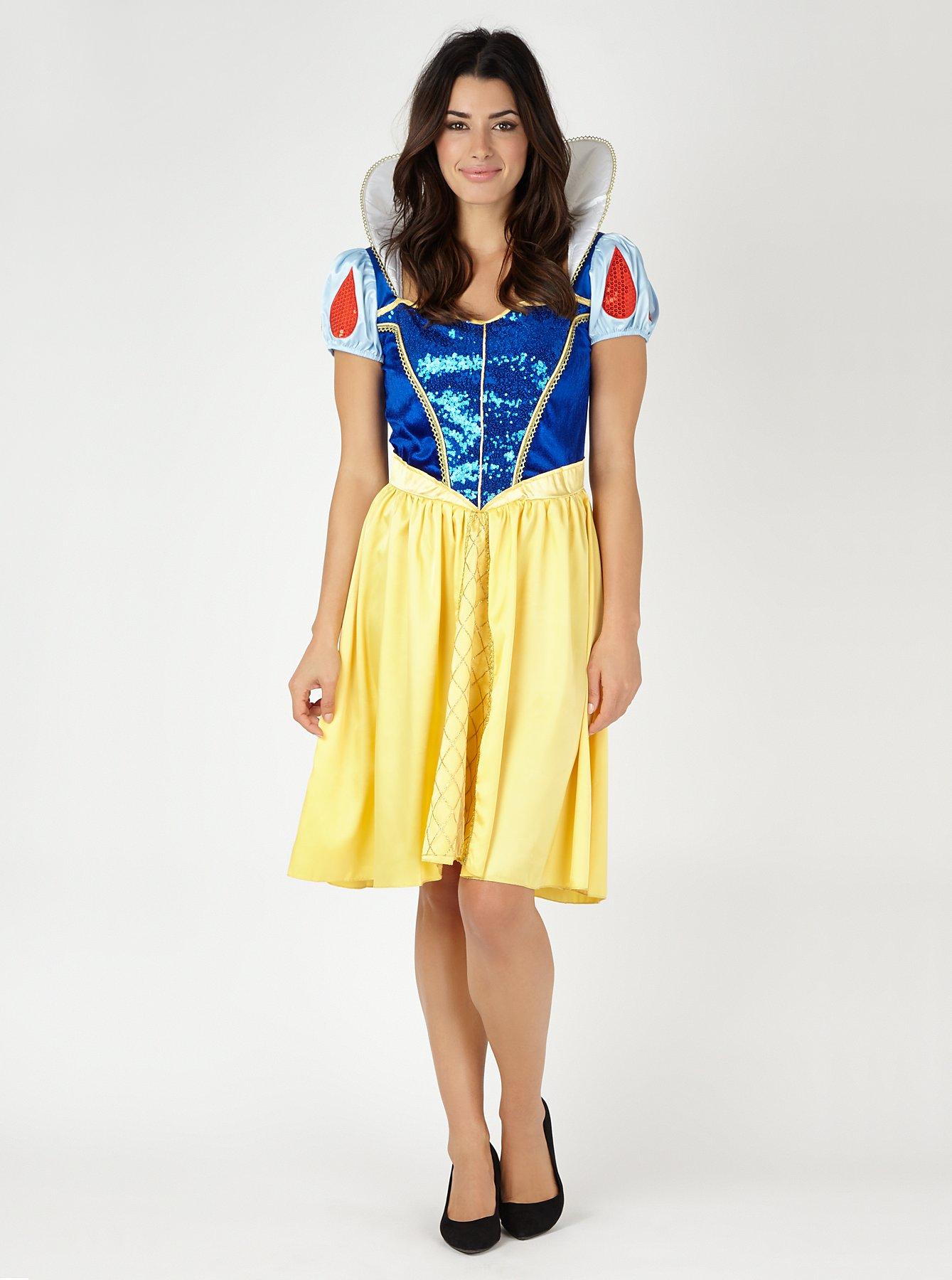 Ladies leather gloves asda - Adult Disney Snow White Fancy Dress Costume