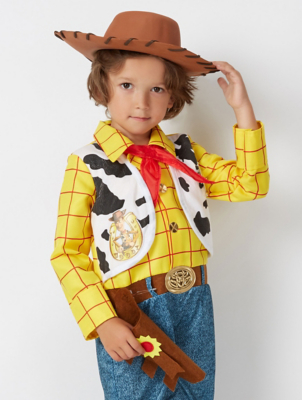 Disney Toy Story Woody Fancy Dress Costume. Was from £13.00  sc 1 st  George - Asda.com : woody toy story costume kids  - Germanpascual.Com