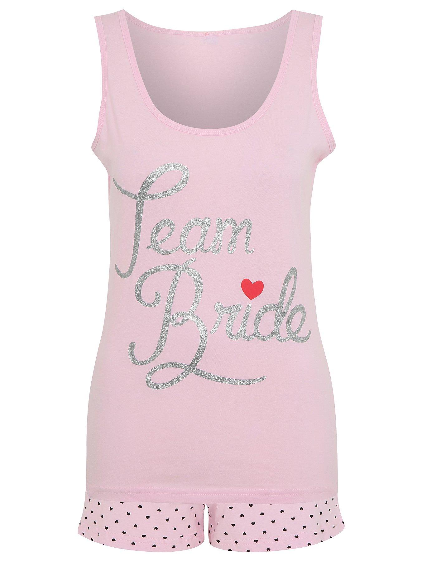 Team Bride Pyjama Set Women George At Asda