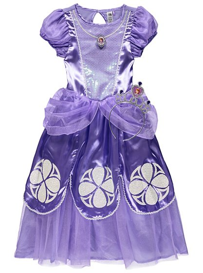 Disney Junior Sofia the First Fancy Dress Costume | Kids | George at ...