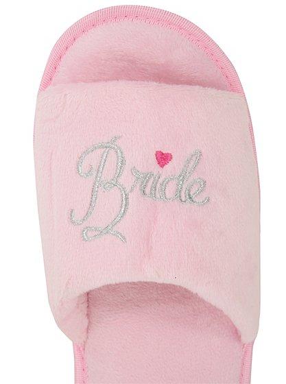team bride mule slippers women george at asda. Black Bedroom Furniture Sets. Home Design Ideas